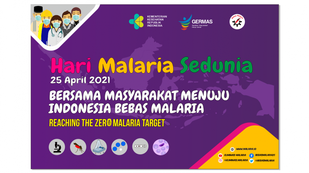 Media Hari Malaria Sedunia 2021