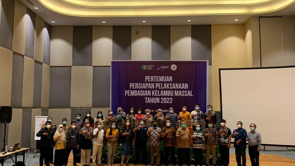 Pertemuan Persiapan Pelaksanaan Pembagian Kelambu Massal Tahun 2022